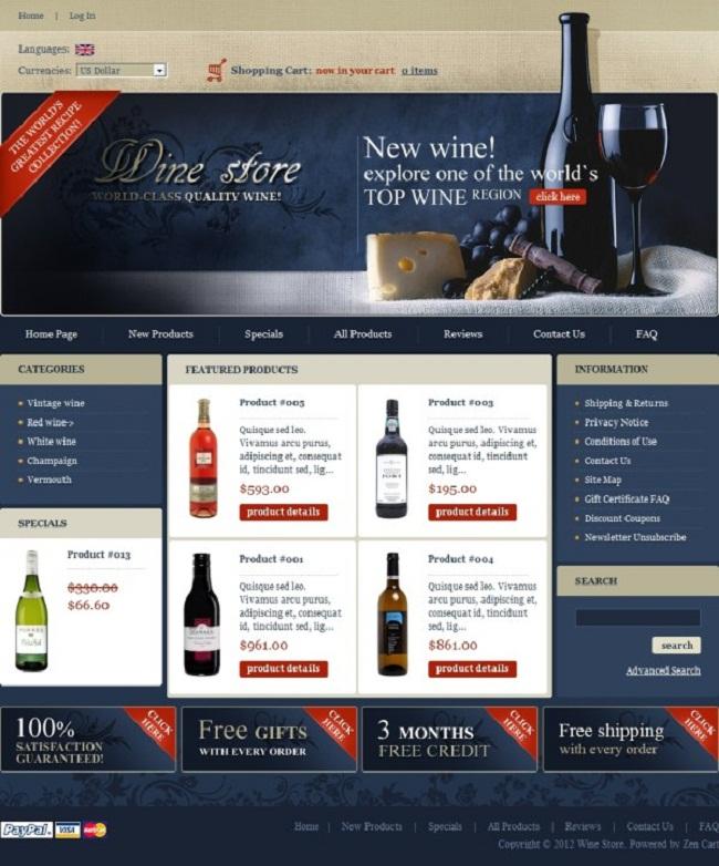 thiết kế web bán rượu chuyên nghiệp sang trọng giá rẻ