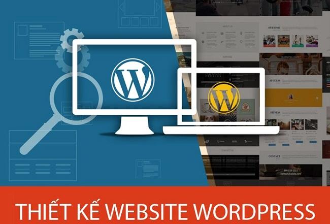 thiết kế web bằng WordPress chuẩn Seo giá rẻ