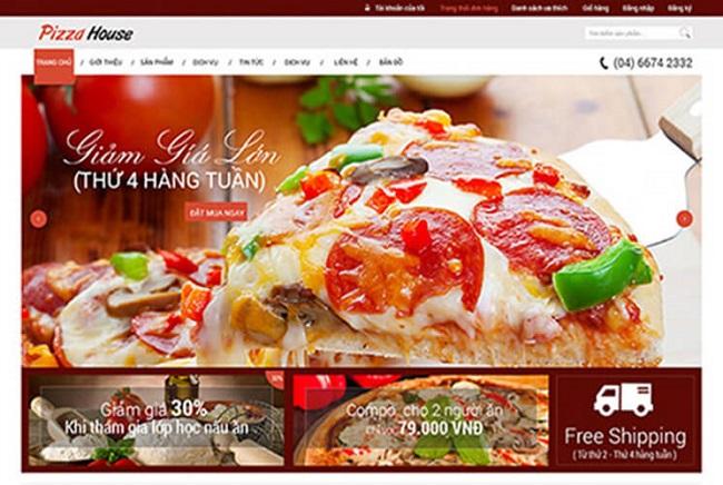 TOP 12 mẫu web ẩm thực giới thiệu món ngon ship đồ ăn chuyên nghiệp và chất lượng